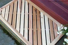 DIY wooden door mat - part of the Home Depot workshop series.