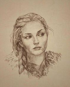 "qinaliel: ""Sansa Stark by arch2626 """