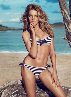 natalia vodianova for #Etam #swimwear | more pictures here http://www.fashionising.com/pictures/b--natalia-vodianova-for-etam-swimwear-51568.html
