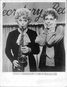 Lucille Ball and Carol Burnett, two of my favorite ladies.