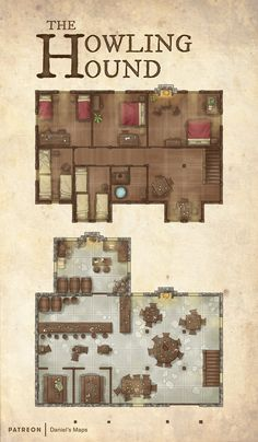 kampagne stadt Daniels Maps is creating fantasy and RPG maps -You can find Maps and more on our website.kampagne stadt Daniels Maps is creating fantasy and RPG maps - Fantasy Inn, Fantasy City Map, Fantasy World Map, Fantasy House, Fantasy Map Making, Fantasy Town Names, Dungeons And Dragons Homebrew, D&d Dungeons And Dragons, Rpg Wallpaper