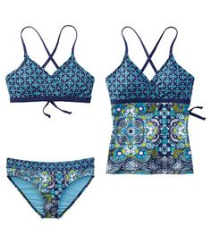 I want this swim suit From Title Nine.  Love the pattern and colors!
