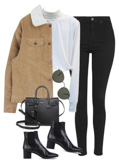 """""""Sem título #1297"""" by oh-its-anna ❤ liked on Polyvore featuring Topshop, Isabel Marant, Yves Saint Laurent and Ray-Ban"""