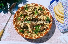 Hare with white beans, a delicacy of Alentejo. Portugal