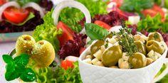 Solas, en ensaladas o en platillos : Aceitunas, un clásico de la cocina mediterránea. http://www.farmaciafrancesa.com
