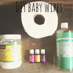 Homemade Wipes, Homemade Baby, Essential Oils For Babies, Young Living Essential Oils, Diy Bebe, Young Living Oils, Natural Baby, Natural Life, Natural Cures
