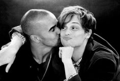 My two fav guys from Criminal minds. Shemar Moore & Matthew Gray Gubler