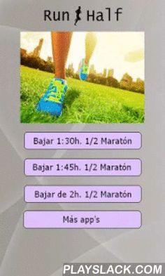 Entrenos Media Maratón  Android App - playslack.com , Planes de entrenamiento de varias semanas para correr una media maratón en menos de 2 horas, 1:45 minutos y 1:30 minutos.Entrenamiento detallado día a día.Bajar de 2 horas: Dirigido a corredores que ya tienen exeriencia en los 10 kilómetros y que quieren superar la barrera de las 2 horas en media maratón. El plan consta de 12 semanas.Bajar de 1:45 minutos: Para corredores de nivel intermedio que deseen bajar de la hora 45 minutos. El plan…