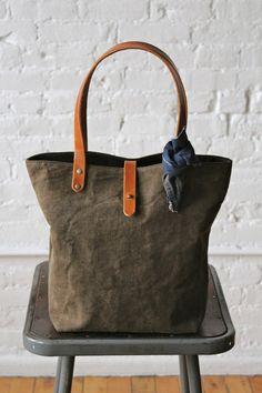 World War 1 era Black Canvas Tote Bag
