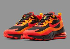 Nike Air Max 270 React Magma SneakerNews.com Nike Sb, Nike Air Max, Air Max Sneakers, Sneakers Nike, Air Max 270, High Level, Red Fashion, Nike Sportswear, Houndstooth