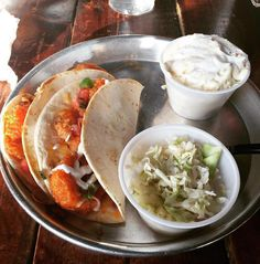 More of a surf than turf type? Then you've gotta try our shrimp tacos. @laurenc434 #edleysbbq