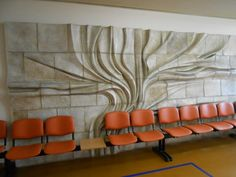 Tree, author: Adéla Matasová. Socialism, Czech Republic, Sculptures, Author, Home, House, Ad Home, Homes, Haus