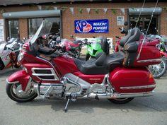 2003 Honda Goldwing. $13,999 from Motorcycle Factory in Woodbridge, VA. 16k miles
