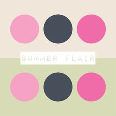 Ah, summer is finally here and we can enjoy the warm weather. How will this palette inspire you?