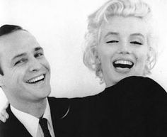 Marilyn Monroe & Marlon Brando! Two of my favorite actors of ALL TIME! :) :) :)-a