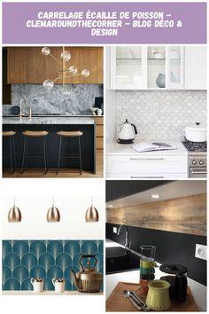 Köket är utrustat med central ö – 66 idéer i bilder – Archzine.fr Credence Cuisine