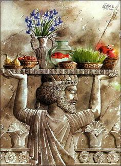 20th Of March, Persian New Year, 1st Day Of Spring, Norouz (u003d