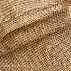 Natural Jute Hessian Fabric Wedding Craft Upholstery Garden 10oz 40''(100cm)