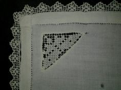 Hankie with lace