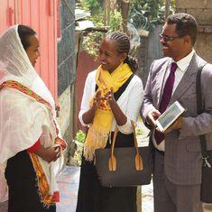 Un matrimonio predicando juntos