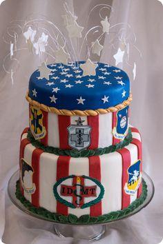 U.S. Air Force retirement cake
