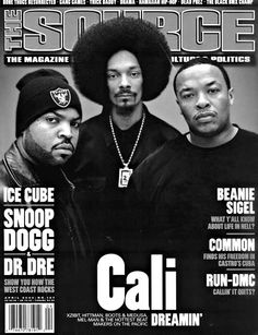 Ice Cube, Snoop Dog, Dr.Dre Family one love. *repin by Hip Hop Fusion