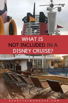 Avoid sticker shock on a Disney Cruise. Many things are included in the cost of a Disney Cruise, but some aren't. Learn from a Disney Cruise Expert what is included and what isn't and get advice about how to keep the costs of your cruise down. Disney Cruise Alaska, Disney Dream Cruise Ship, Disney Wonder Cruise, Disney Fantasy Cruise, Disney Ships, Disney Cruise Line, Cruise Mexico, Cruise Port, Cruise Tips
