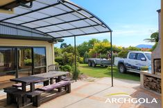 Looking to extend your living space? Add an Archgola to your home and it's like adding a new room, for a fraction of the price. Archgola awnings are custom-made to your style and budget. Customise your Archgola awning design, frame colours and roof tints, to achieve the shade and shelter you're looking for. Call us now on 0508 272 446 for a FREE measure & quote.