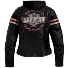 Image detail for -Women's Harley-Davidson Miss Enthusiast 3-in-1 Leather Jackets ...