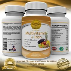 Feel Good Gold - Multivitamin + Iron Customer Review