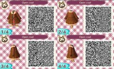 Just found the most cute winter coat to Animal Crossing. I love this coat! :D