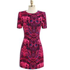 Women Galaxy Dress Sexy Bodycon Print Dress Brand New Runway Dresses 2014 European And American Style Apparel Vestido-in Dresses from Appare...