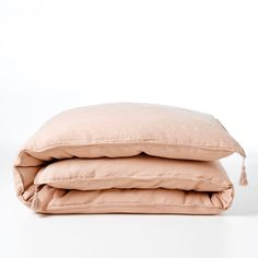 CARLY Pre-Washed Linen Duvet Cover AM.PM. | La Redoute Mobile