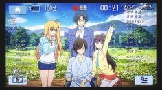 Charlotte - And now I must wave goodbye to these characters . Otaku, Manga Anime, Anime Art, Blonde Anime Girl, Waves Goodbye, Natsume Yuujinchou, Angel Beats, Anime Shows, S Pic
