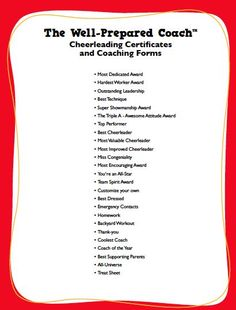 "cheerleading awards - At cheer camp I got an award titled ""Most Spirited"" YAY Football Cheer, Cheer Camp, Cheer Coaches, Cheer Stunts, Cheer Dance, Baseball, Youth Cheerleading, Cheerleading Crafts, Volleyball Team"