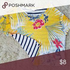 T-shirt Double sided Hawaiian T shirt GAP Tops Tees - Short Sleeve