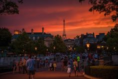 I love Paris … at World Showcase. And tonight's Disney Parks After Dark photo only makes me want...