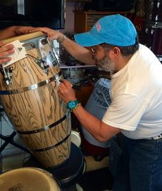 Hidalgo Giovanni Signs my LP Palladium Musica Salsa, Percussion Drums, Drum Room, Salsa Music, Afro Cuban, Sign I, Lp, Instruments, Good Things