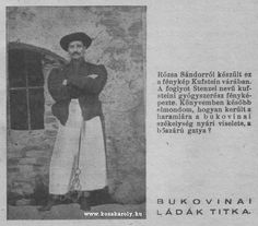 Rózsa Sándor, Kufstein várában Hungary, Famous People, The Past, Face, Photography, Historia, Photograph, Photo Shoot, Faces