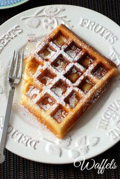 Waffel a colazione ... perchè no!