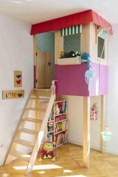 mommo design: HOUSES.  I wish this for the kids room.