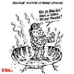 Affaire Cahuzac, que peut faire François Hollande? - Dessin du jour - Urtikan.net