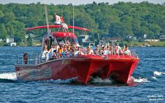 See the 1000 Islands like never before on 1 and 2 hour high-speed adventure cruises aboard the 'WildCat'. Operated by 1000 Islands & Seaway Cruises in Brockville Ontario, the WildCat offers a unique alternative to the traditional sightseeing cruises available from Kingston, Gananoque, Ivy Lea and Rockport.    Traditional Sightseeing, Dinner Cruises, Special Events and Private Charters available too! Ontario Attractions, Thousand Islands, Things To Do In London, Canada Travel, Great Places, Tourism, Places To Visit, Boat, Activities