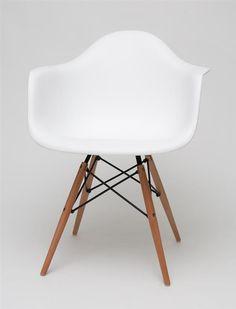 MONDI P1 Stuhl, Retro Chair, Loft, Industrial Design, PP Schale WEIß+Buche in Möbel & Wohnen, Möbel, Stühle | eBay