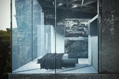 This Gorgeous Minimalist House Hangs Over The Side Of a Cliff - UltraLinx