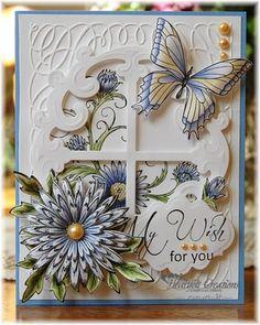 Heartfelt Creations | Delicate Asters Window