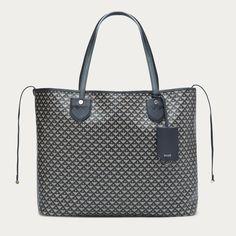 Women's large coated canvas tote bag   BERNINA LARGE   Bally Totes