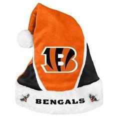 NFL 2014 Colorblock Santa Hat Cincinnati Bengals