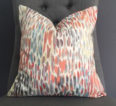 A personal favorite from my Etsy shop https://www.etsy.com/listing/491011527/pillow-cover-watercolor-pillow-cover