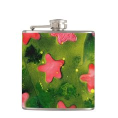 STARFISH ~ HIP FLASK  Original paintings can be found for sale through my Amazon store at: http://www.amazon.com/shops/artmatrix or you can make direct arrangements for them through me. JMO Zazzle designs: http://www.zazzle.com/thewhippingpost?rf=238063263784323237 To help an artist, you can donate here: http://www.gofundme.com/6am6lg